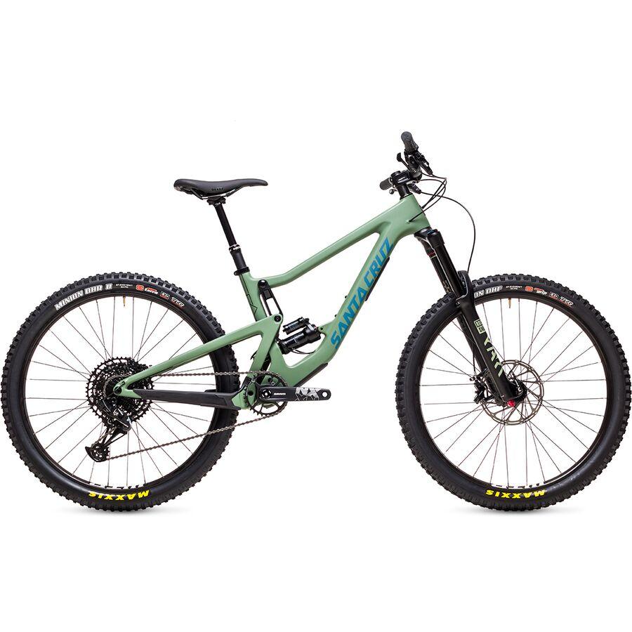Santa Cruz Bicycles - Bronson Carbon R Mountain Bike - Olive