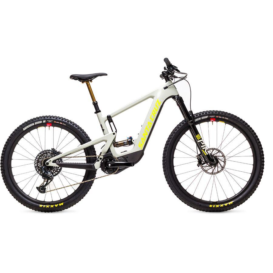 Santa Cruz Bicycles - Heckler MX Carbon CC X01 Eagle Reserve e-Bike - Fog