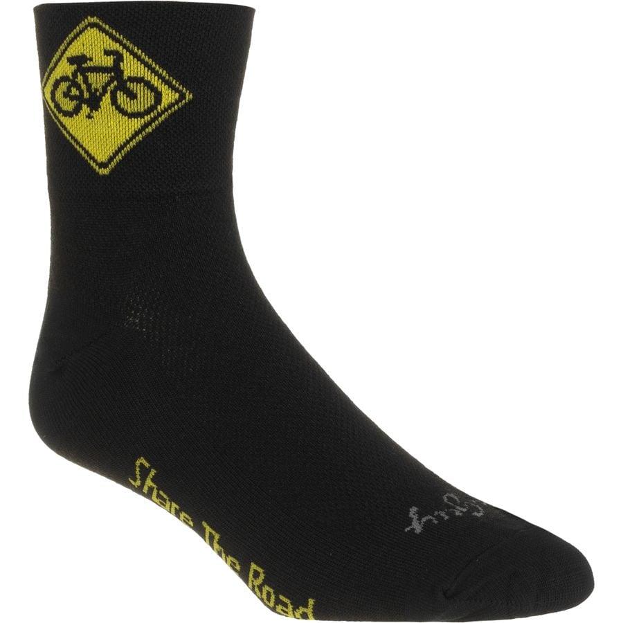 SockGuy Share the Road 3in Socks