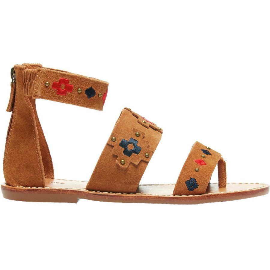 Soludos Embroidered Three Banded Sandal - Womens