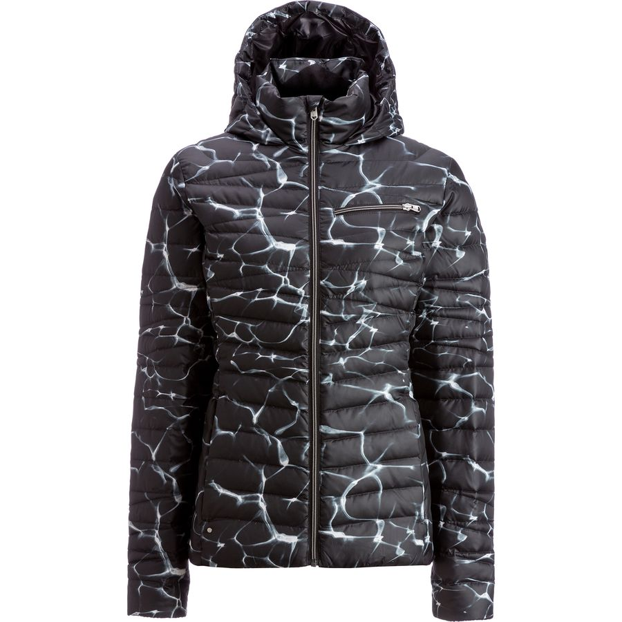 Spyder Timeless Hooded Down Jacket - Womens