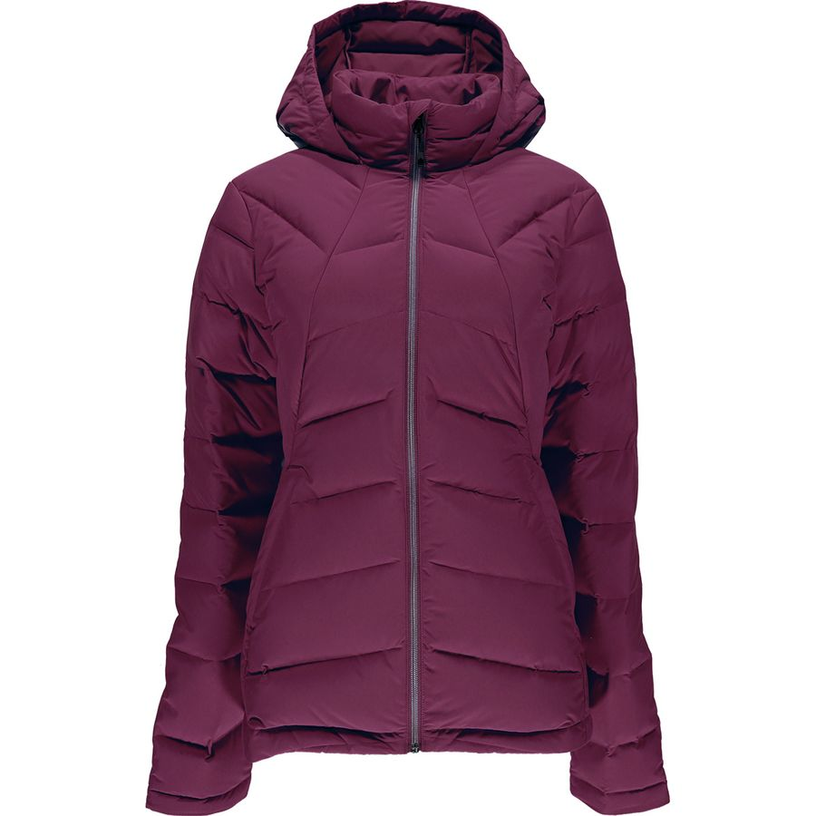 Spyder Syrround Hooded Down Jacket - Womens