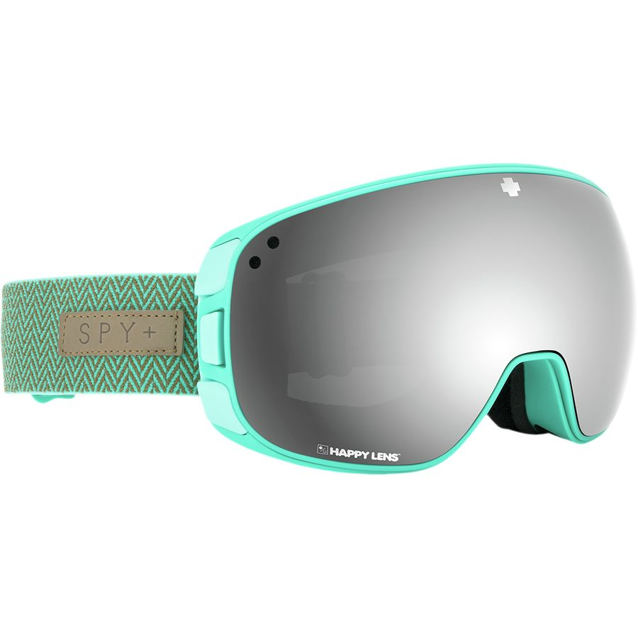 d888fcb9ae1 Spy - Bravo Happy Lens Goggles - Herringbone Mint-hd Plus Grey Green Silver