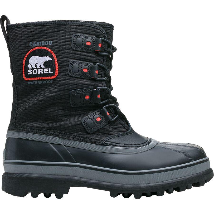 Sorel - Caribou XT Boot - Men's - Black/Shale