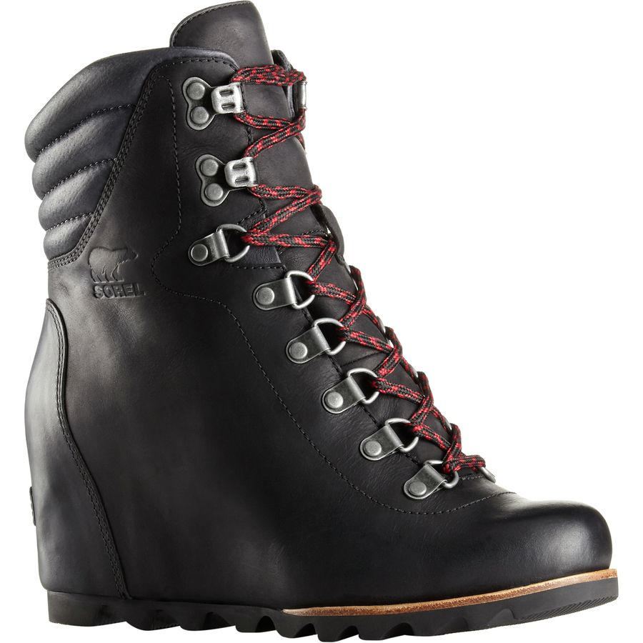 Sorel Womens Conquest Wedge Booties 6.5 Kettle