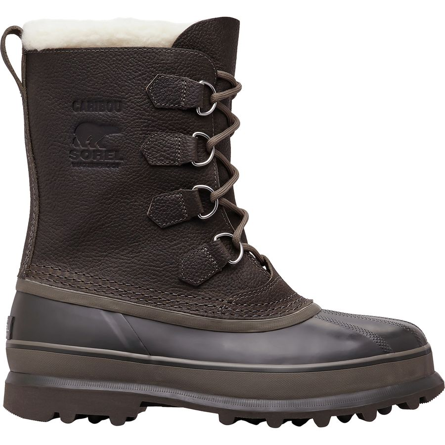 Sorel - Caribou Wool Boot - Men s - Quarry Buffalo 40acd4199816