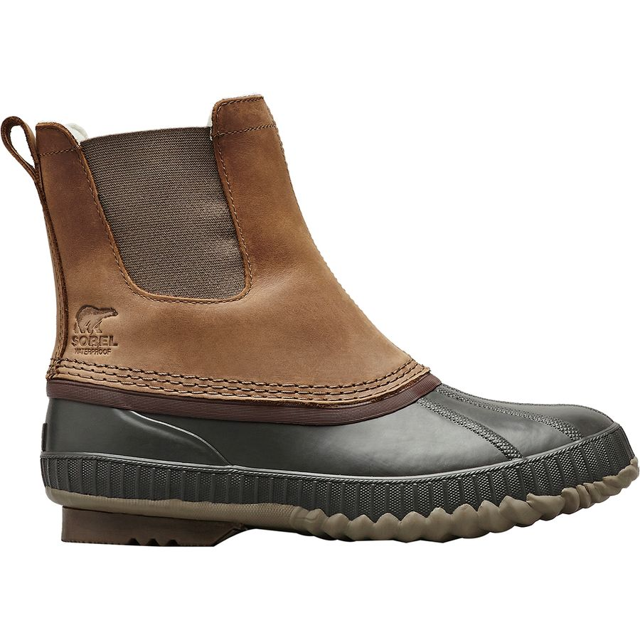 Sorel - Cheyanne II Chelsea Boot - Men's - Umber/Buffalo