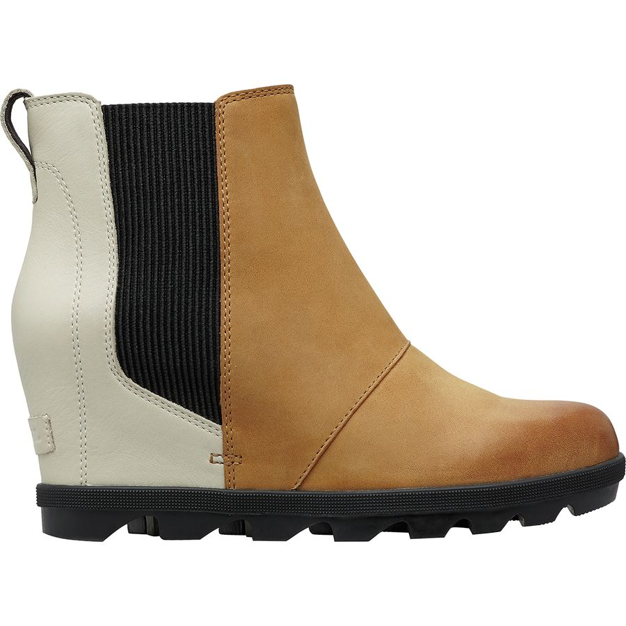 0ab1590e5a37 Sorel - Joan of Arctic Wedge II Chelsea Boot - Women s - Camel Brown Color  Block
