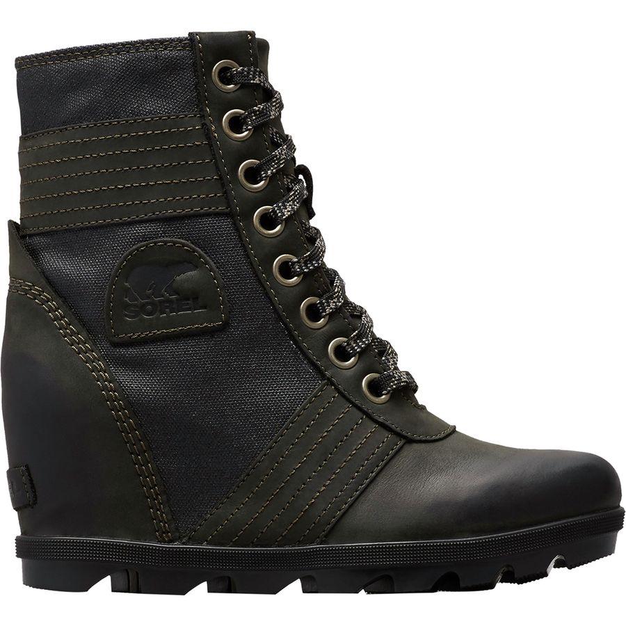 e9965d348bd7 Sorel - Lexie Wedge Boot - Women s - Black Solid
