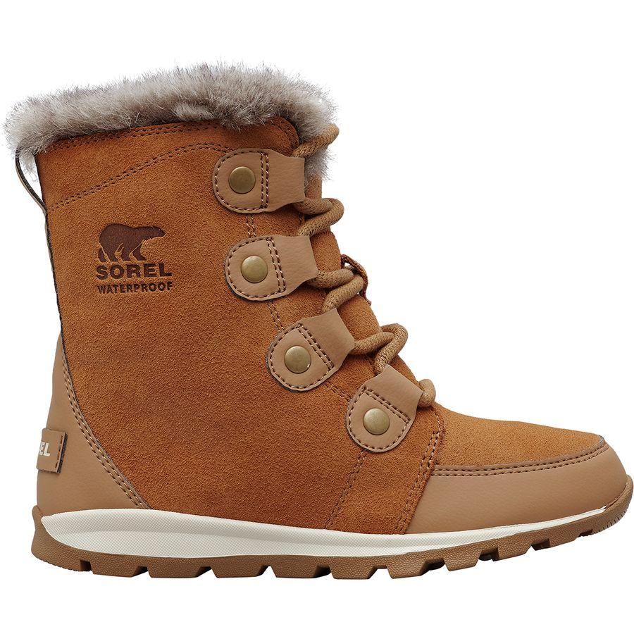 Sorel Whitney Suede Lace Boot - Girls