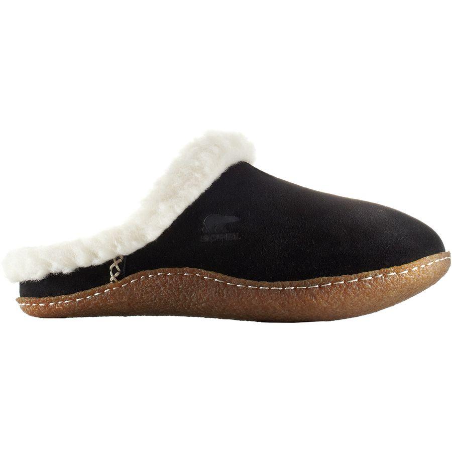 Sorel - Nakiska Slide Slipper - Women's - Black/Fossil