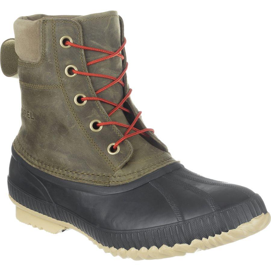 Sorel Cheyanne Lace Full Grain Boot - Mens