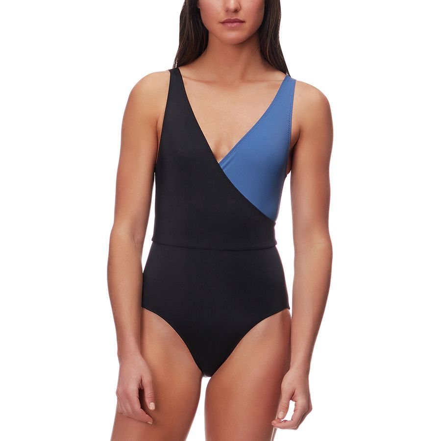 Solid & Striped Ballerina One-Piece Swimsuit - Womens