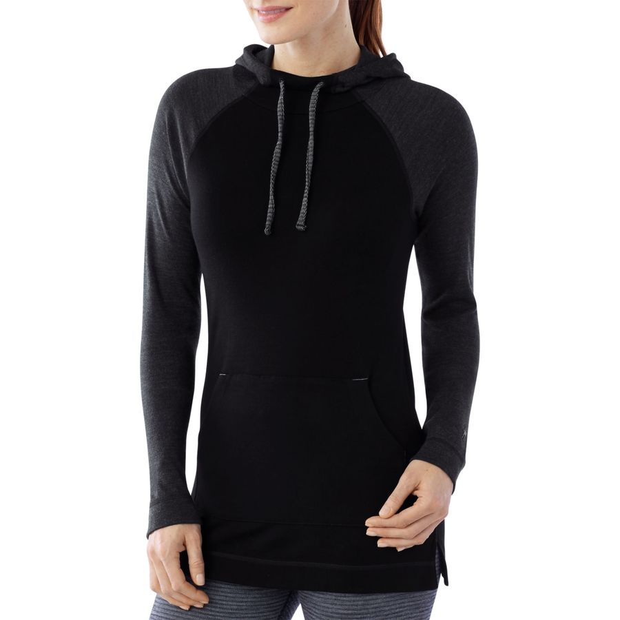 SmartWool NTS Mid 250 Drape Neck Pullover Hoodie - Womens