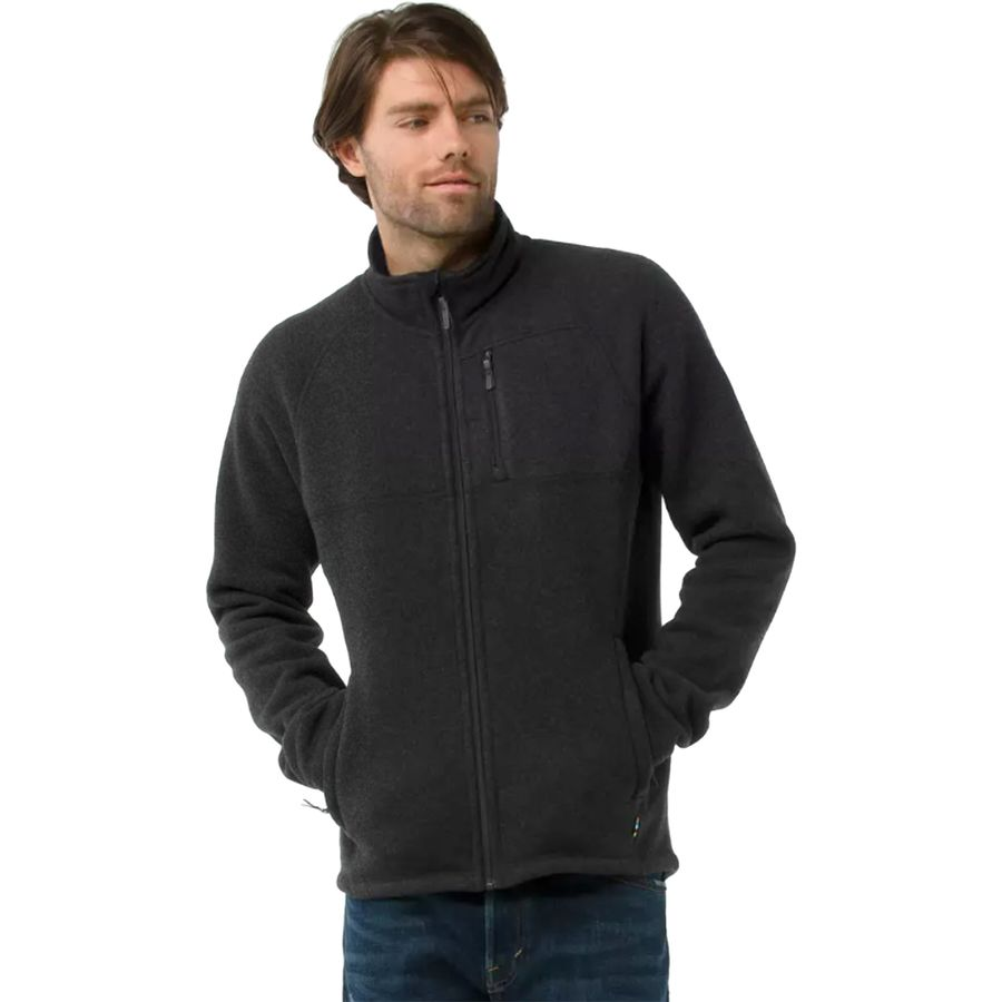 SmartWool Echo Lake Full-Zip Sweater - Mens