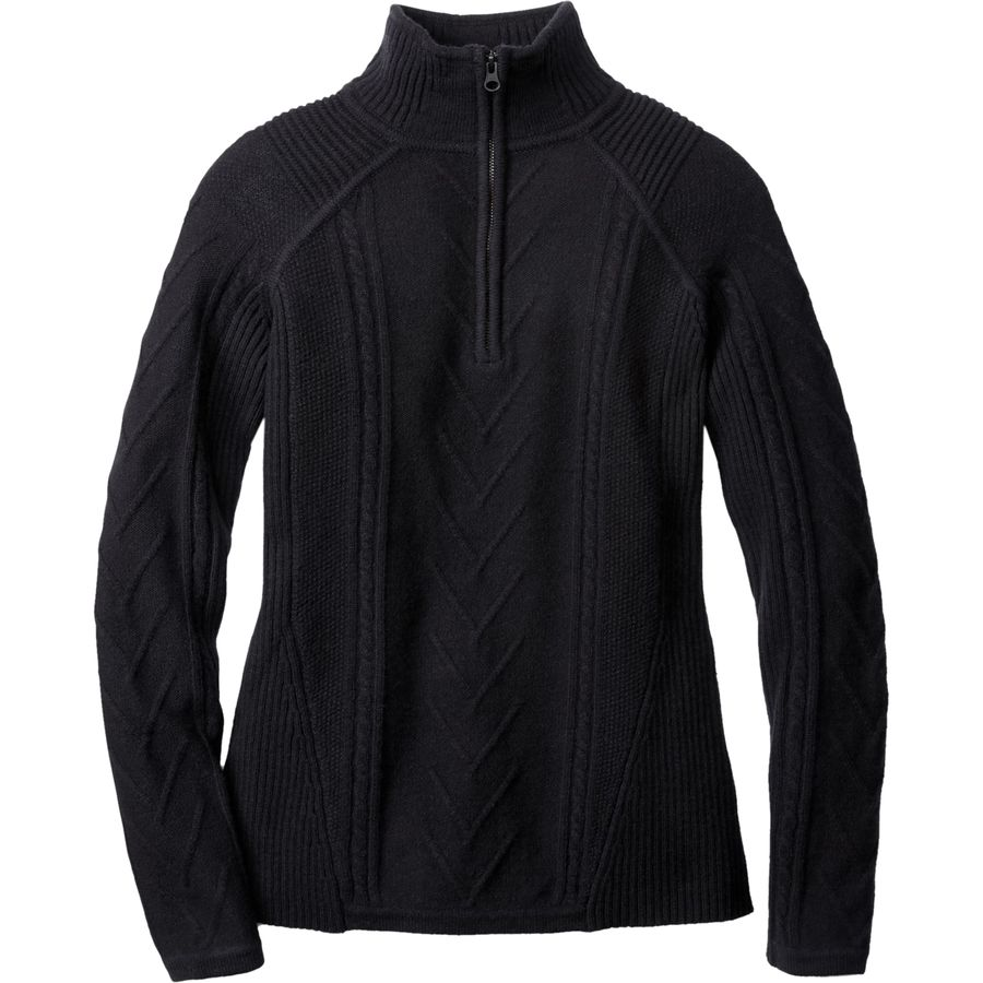 SmartWool Marquette Half Zip Sweater - Womens