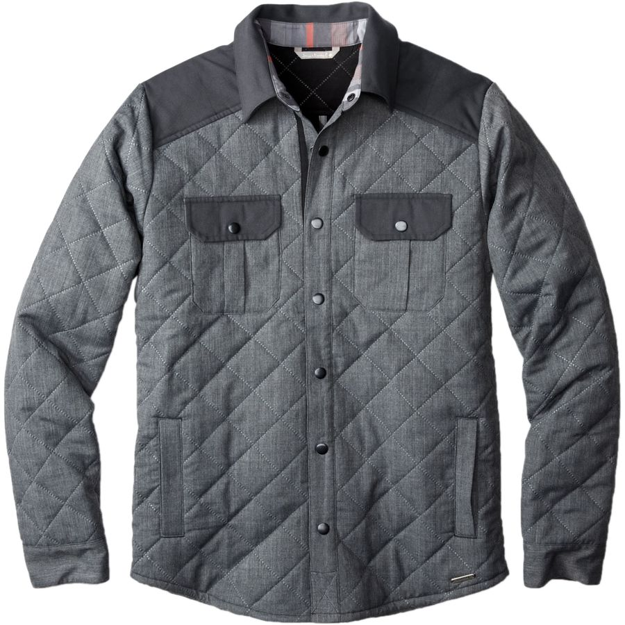 SmartWool Summit County Quilted Shirt Jacket - Mens