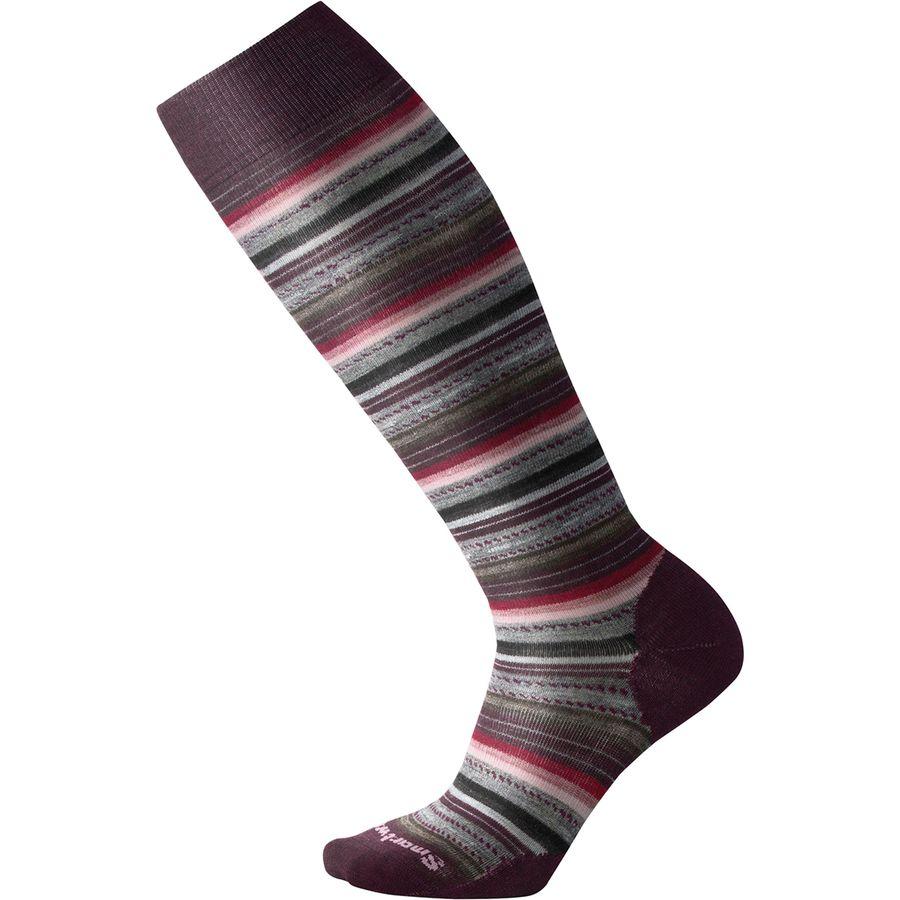 42c69df3dd4 Smartwool - Margarita Knee High Sock - Women s - Bordeaux Heather