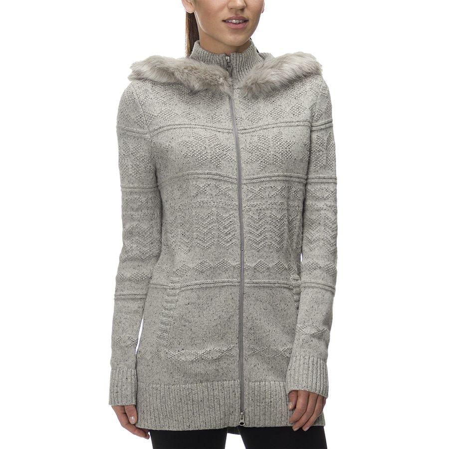 White sweater jacket womens