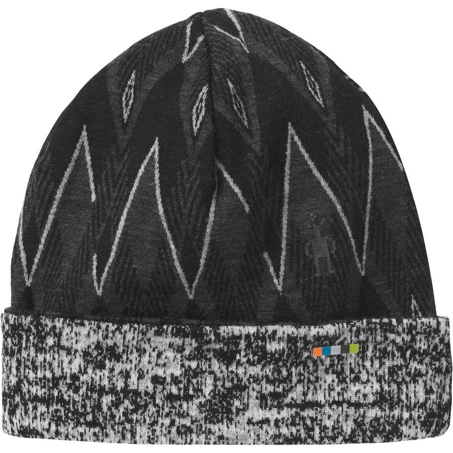 d889a103f30 Smartwool - Merino 250 Pattern Cuffed Beanie - Black Charcoal H