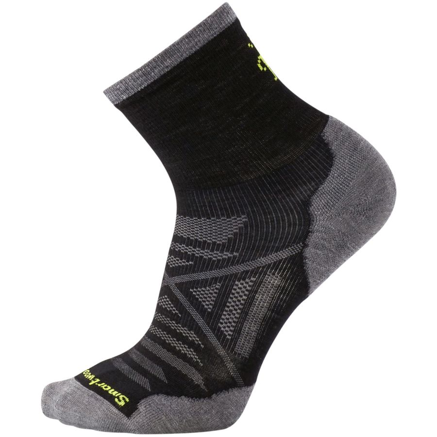 Smartwool PhD Run Cold Weather Mid Crew Sock