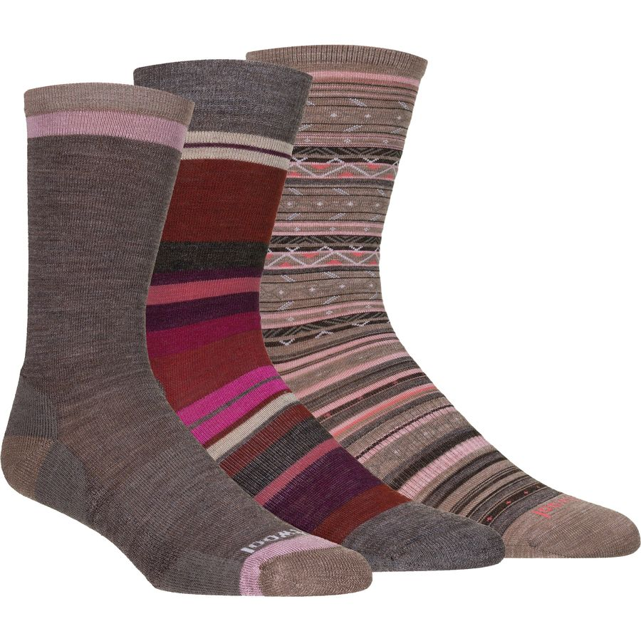 Smartwool Trio 4 Sock - 3-Pack - Womens