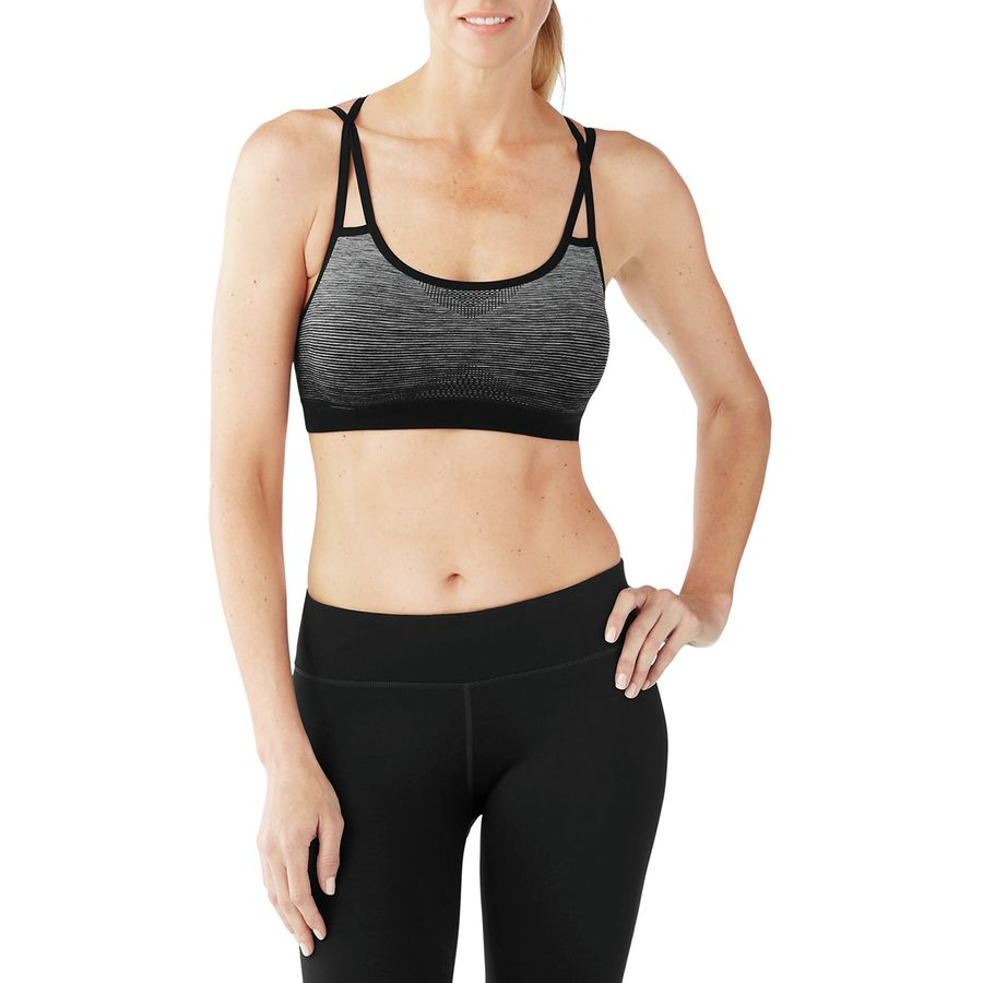 8e3dff3b3b Smartwool - PhD Seamless Strappy Bra - Women s - Black