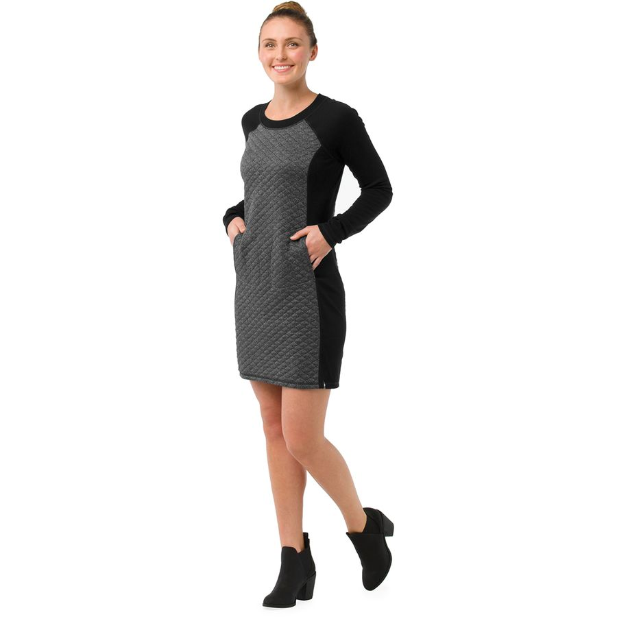 Smartwool Diamond Peak Quilted Dress - Womens