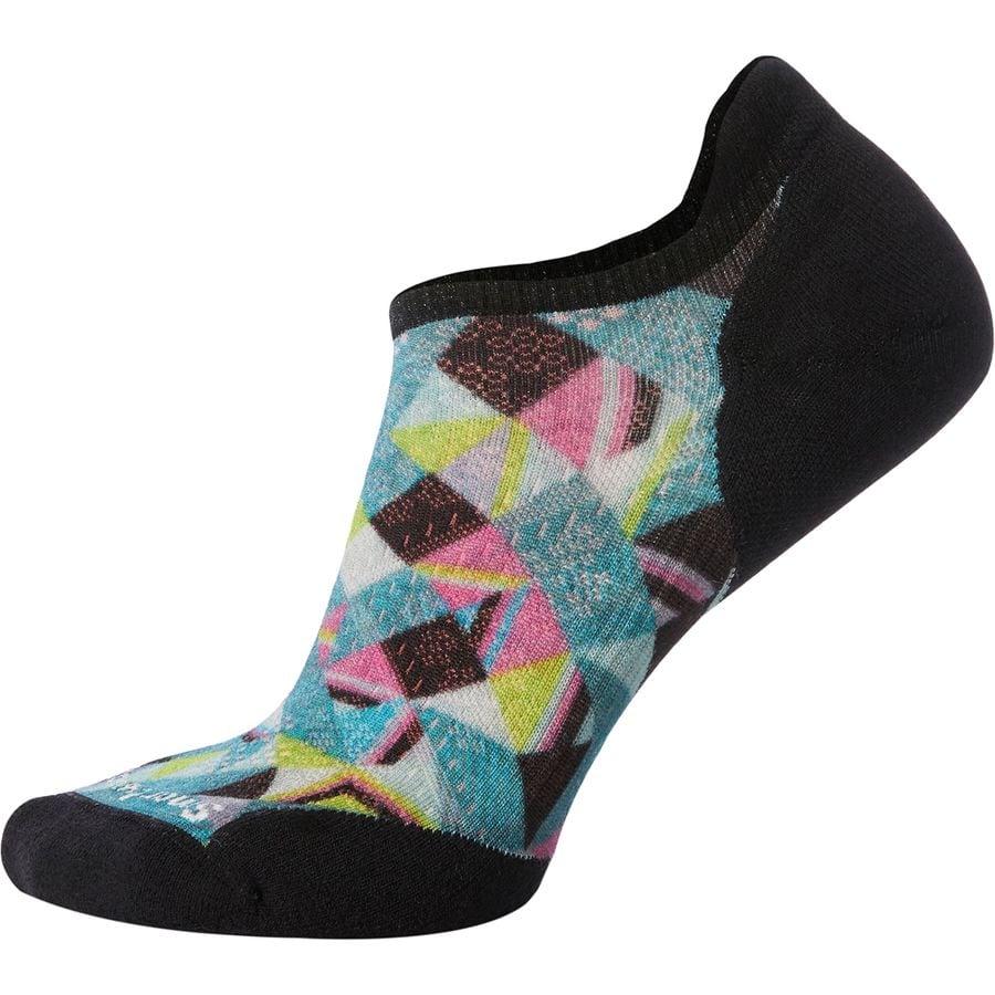 Smartwool Phd Run Light Elite Print Micro Sock Women S