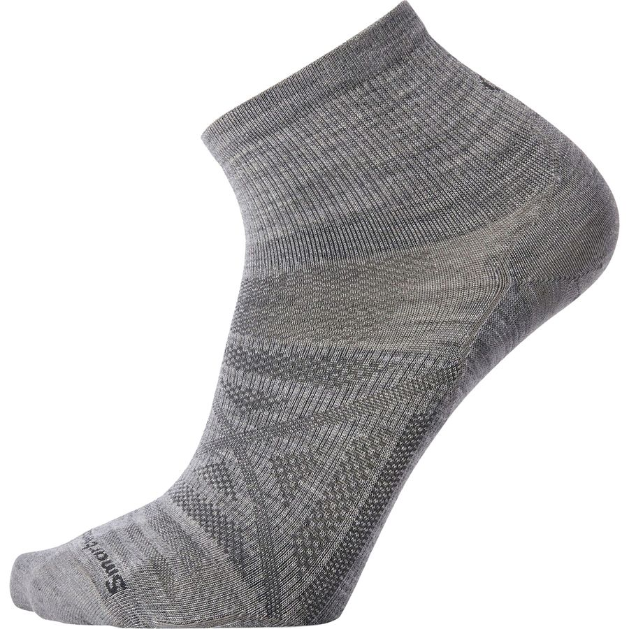 8f683a096 Smartwool - PhD Outdoor Ultra Light Mini Sock - Men s - Light Gray