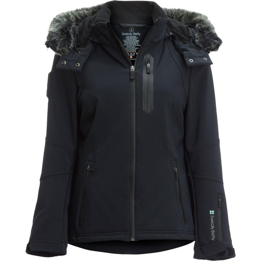 Sweaty Betty Exploration Ski Softshell Jacket - Womens