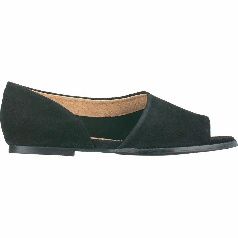 Seychelles Footwear - Passport Shoes - Women s - Black Suede 5601e56675