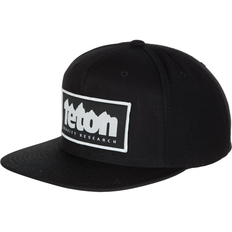 Teton Gravity Research Logo Patch Snapback Hat