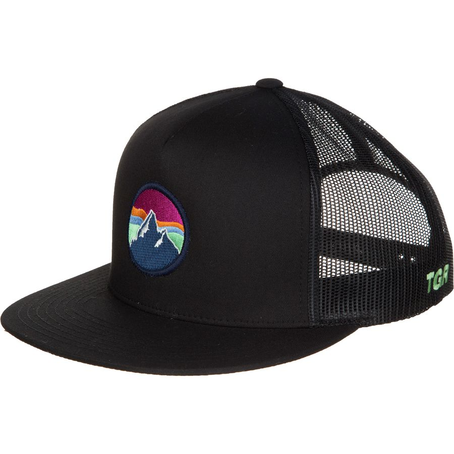 Teton Gravity Research Mountain Sky Trucker Hat - Men's ...