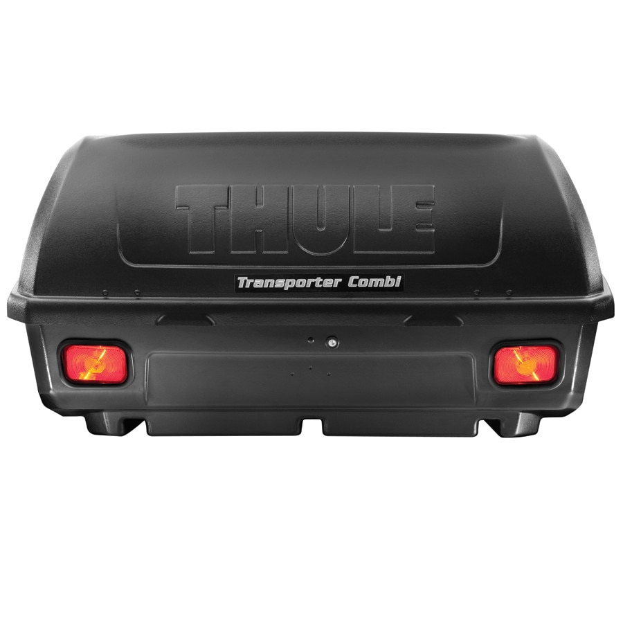 thule transporter combination hitch cargo carrier one color