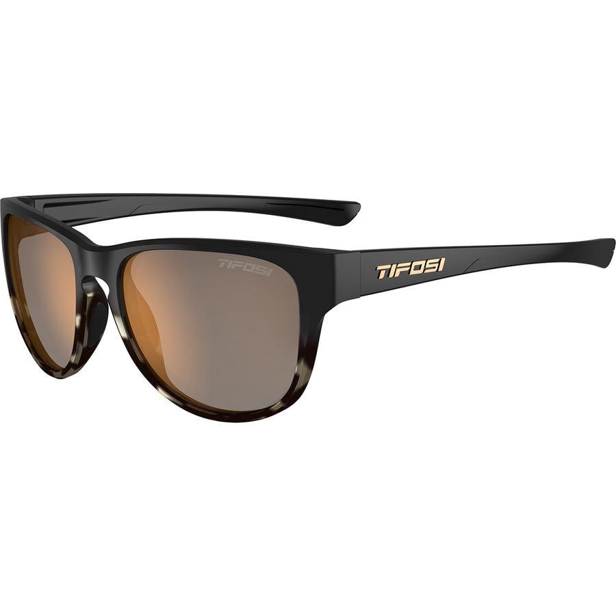 dcb1896b10b Tifosi Optics - Smoove Polarized Sunglasses - Satin Black Java Fade Brown Polarized  Lens