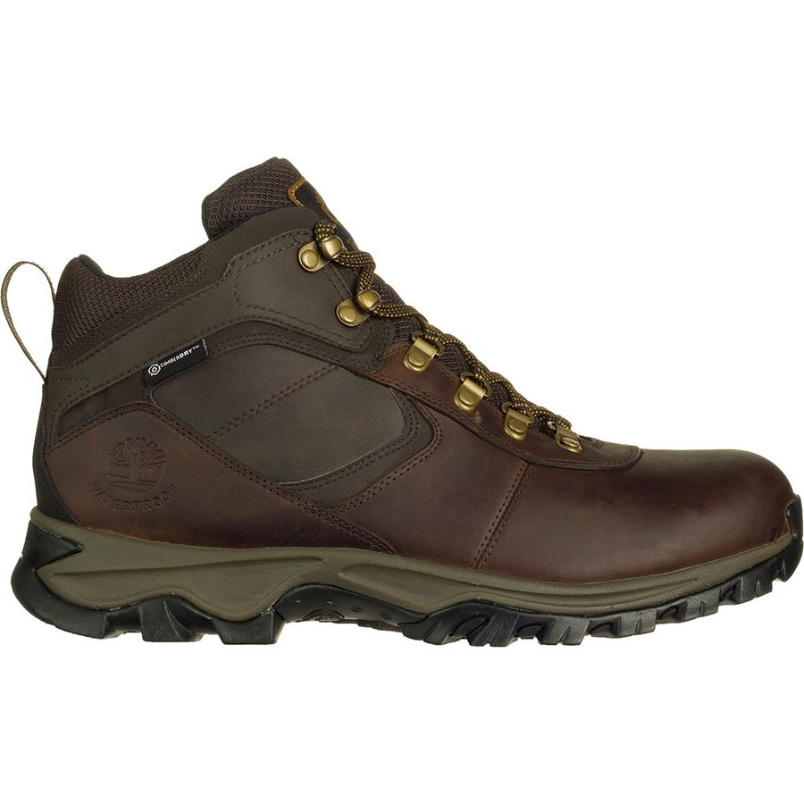 a6bf00b3dca Timberland - Mt. Maddsen Mid Waterproof Hiking Boot - Men s - Dark Brown  Full Grain