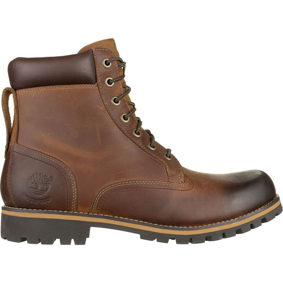 Timberland Earthkeepers Rugged Waterproof 6in Plain Toe Boot Men S Copper Roughcut