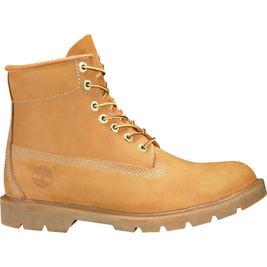 dc6b0d462037 Timberland - Icon 6in Basic Waterproof Boot - Men s - Wheat Nubuck