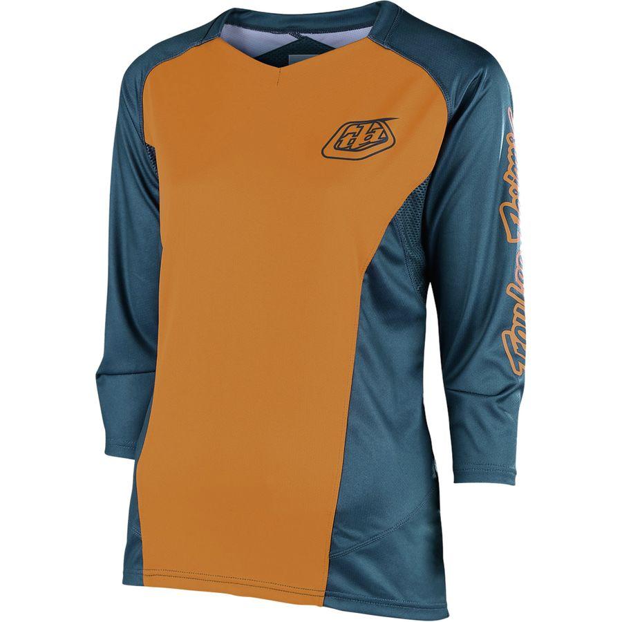 170b8294 Troy Lee Designs Ruckus 3/4-Sleeve Jersey - Women's | Backcountry.com