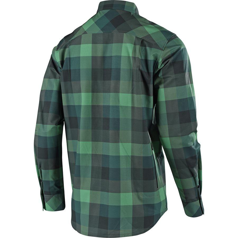 Troy Lee Designs Grind Flannel Long-Sleeve Jersey - Men s ... 66471f46f