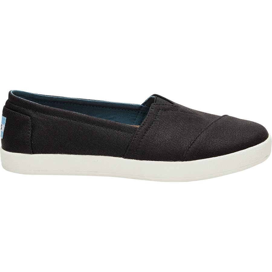 ee4ada0be2c2 Toms - Avalon Slip-On Shoe - Women s - Black Coated Canvas