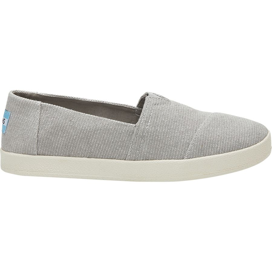 4c230b00f91 Toms - Avalon Slip-On Shoe - Women s - Drizzle Grey Heavy Canvas