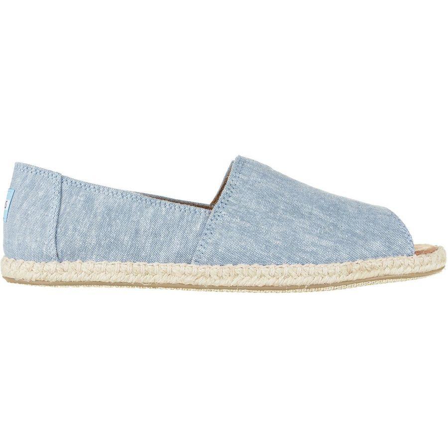 Toms Alpargata Open Toe Shoe - Womens