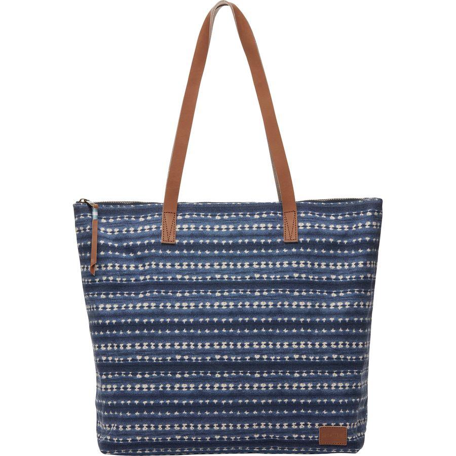 Toms Cosmopolitan Textile Zip Tote
