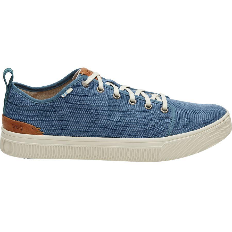 667b2541237 Toms - TRVL Lite Low Shoe - Men s - Airforce Blue Heritage Canvas