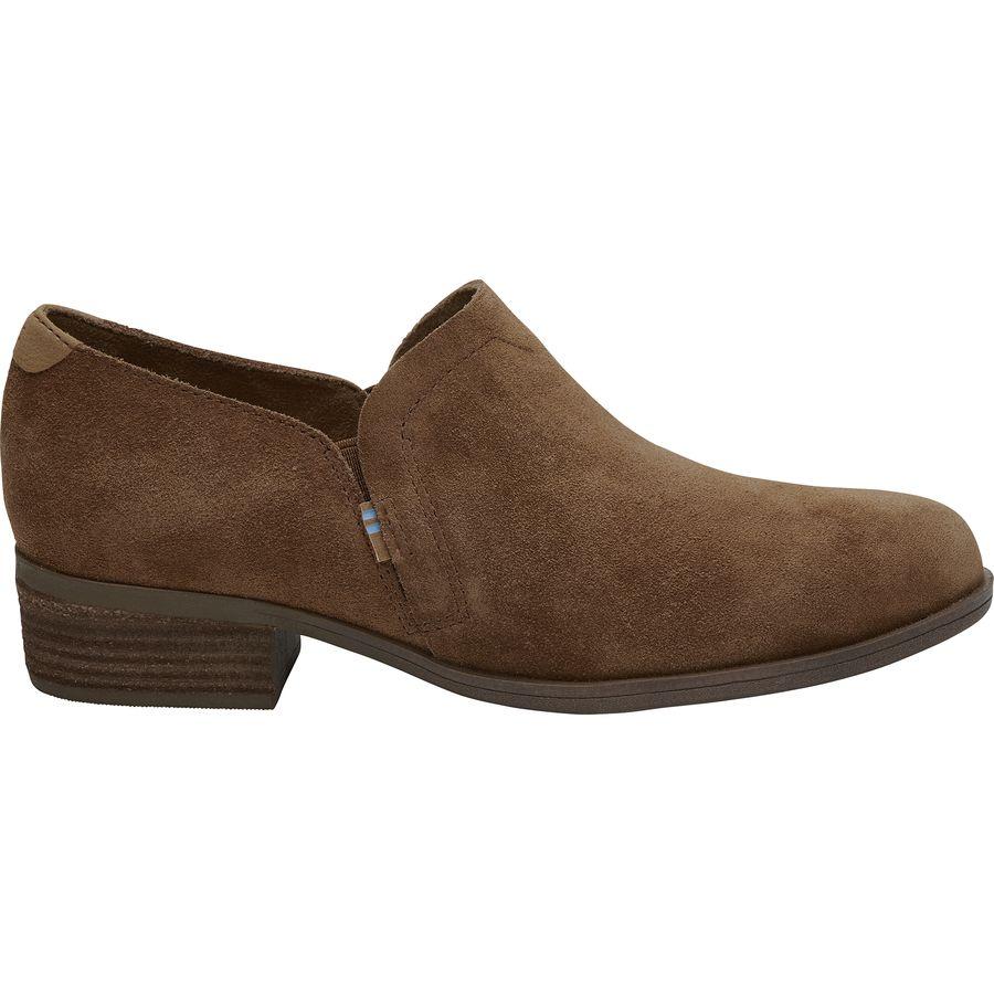 2590c260785 Toms - Shaye Boot - Women s - Dark Amber Suede