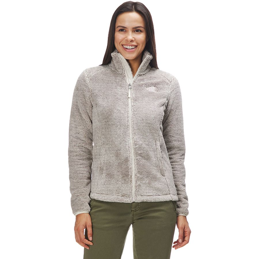 ffb053ec71d0 The North Face - Osito 2 Fleece Jacket - Women s - Silt Grey Vintage White
