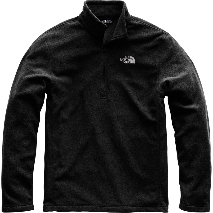The North Face Tka 100 Microvelour Glacier 1 4 Zip Top