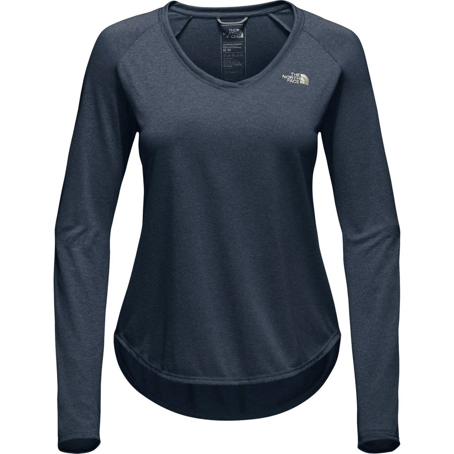 THE NORTH FACE TNF Reaxion Amp Running Training Long-Sleeve Shirt Mens All Size